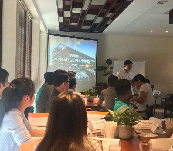 FUXIN's Annual Strategic Plan Meeting